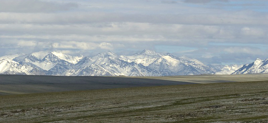 Brooks range in Alaska