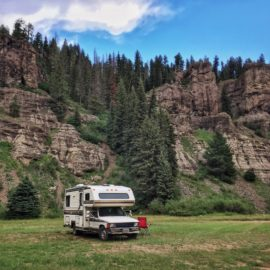 Five-star boondocking in Colorado's Rocky Mountains