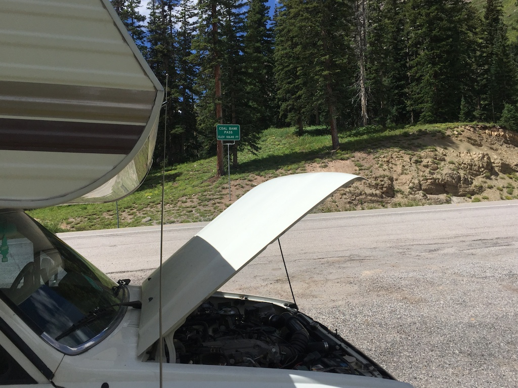 Coal Bank Pass on the Million Dollar Highway