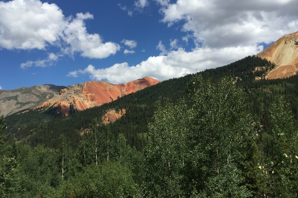 Red Mountain, driving the Million Dollar Highway