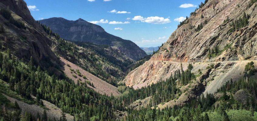 Zennie vs. The Rockies – Driving the Million Dollar Highway