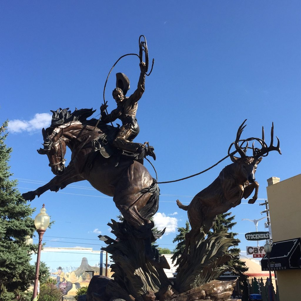 Western art in Montrose, Colorado