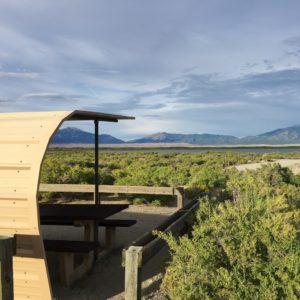 San Luis Lake free camping has lovely views