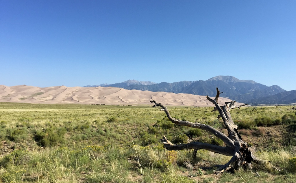 Great Sand Dunes, free camping nearby