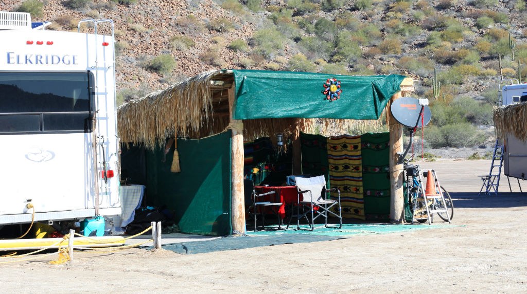 Long term camping can be easy on the Baja RV trip budget