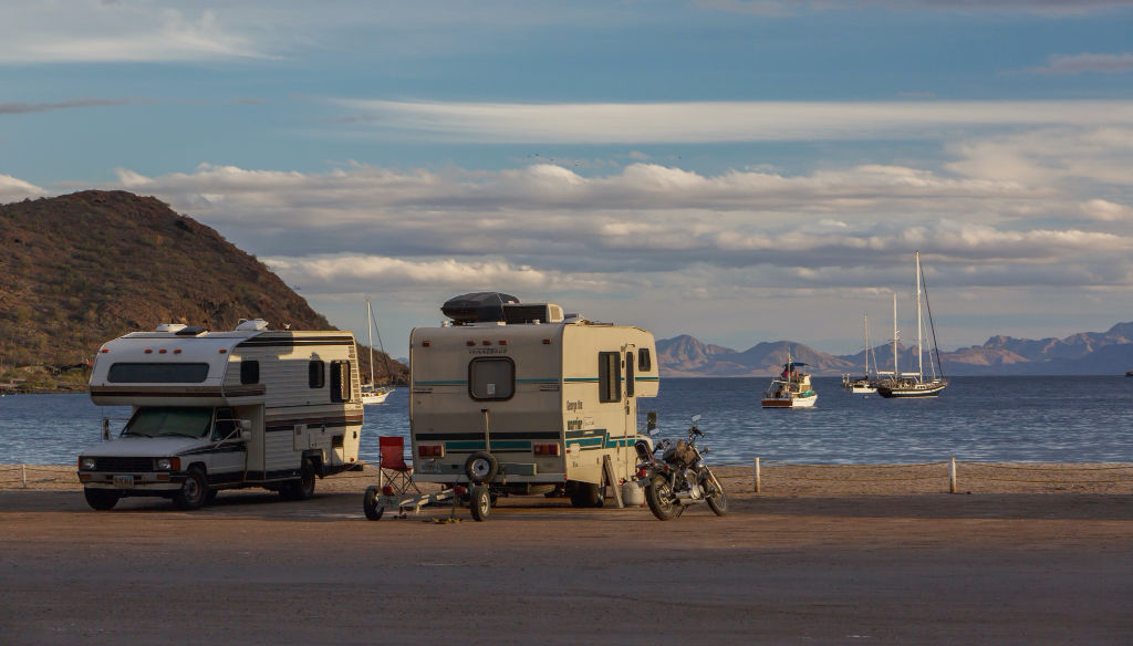Camping doesn't have to be a big part of your Baja RV travel cost