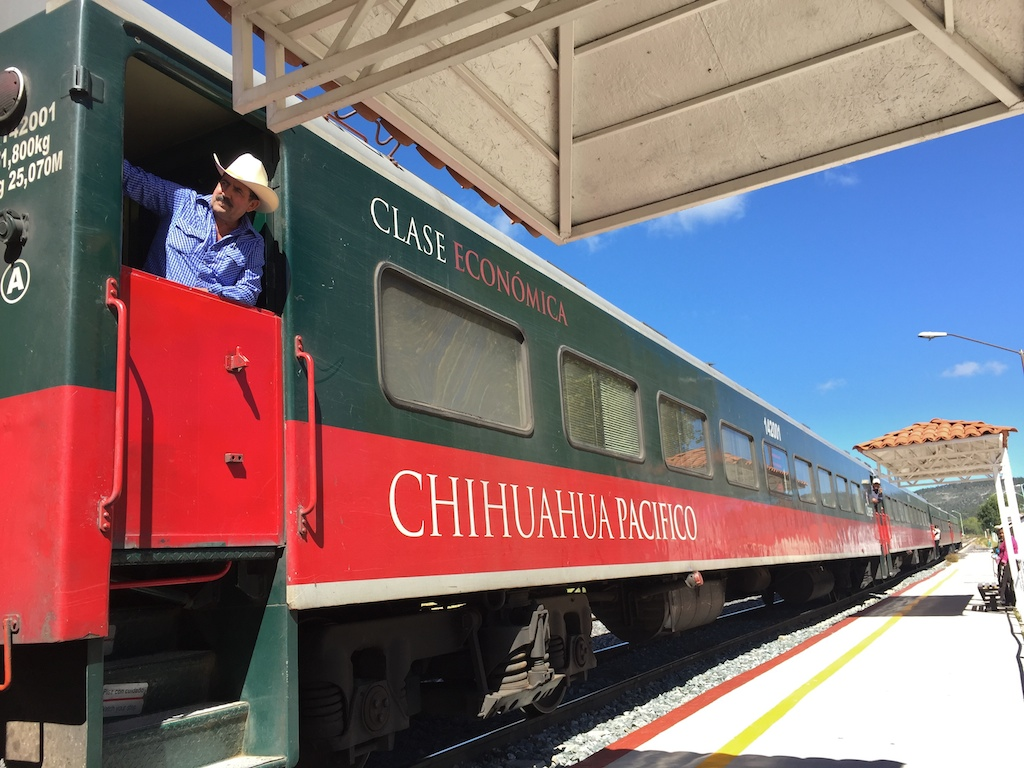 The Copper Canyon train, El Chepe