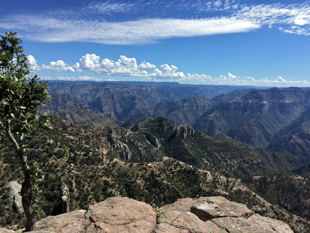 Vistas from the Copper Canyon road trip