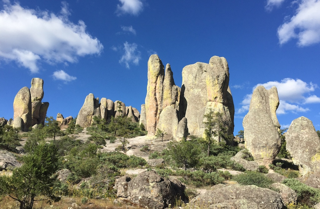 Hiking is great on the Copper Canyon road trip