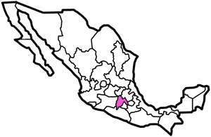 Estado de Mexico map