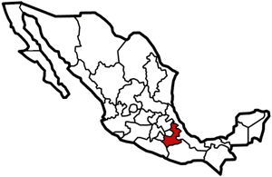 Puebla, Mexico map