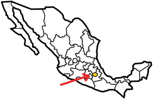 Tlaxcala, Mexico map
