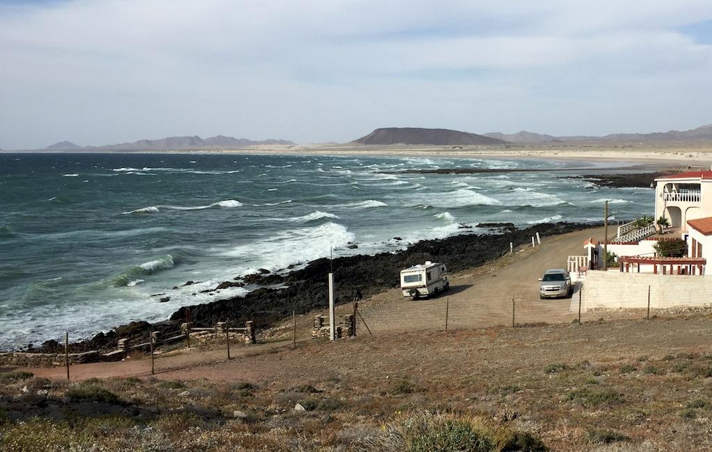 Along the coast at Puerto Lobos, Sonora, Mexico