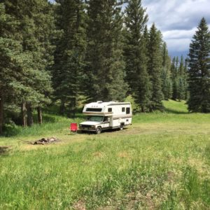 Boondocking in Carson National Forest