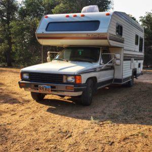 Campsite at Cattlemen Trail