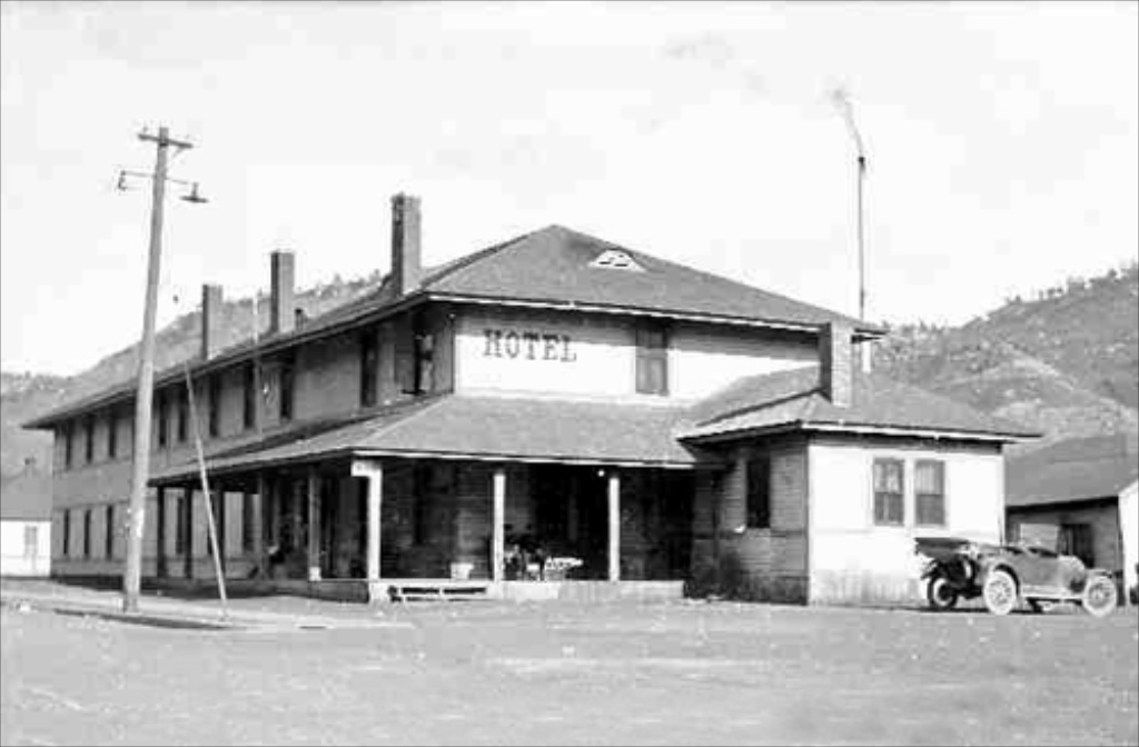 Dawson New Mexico - old hotel
