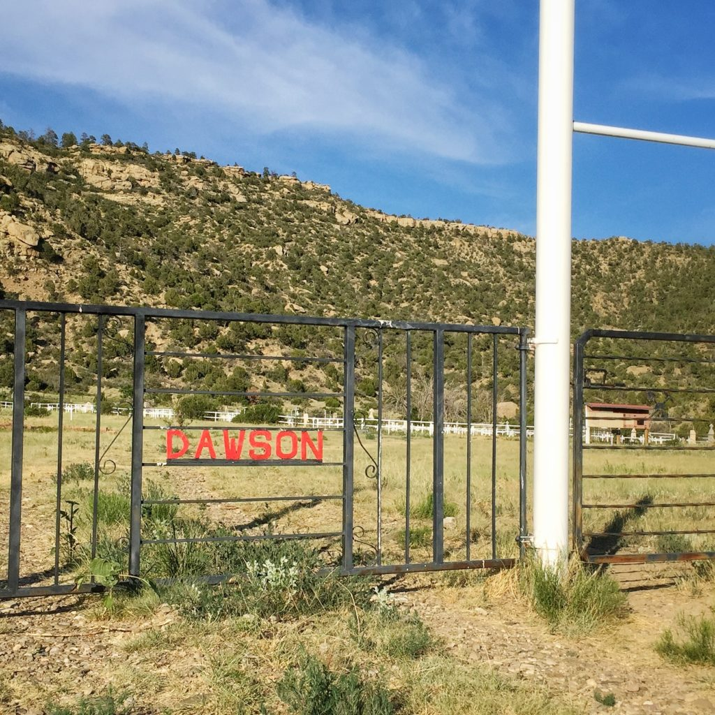 Gateway to Dawson New Mexico