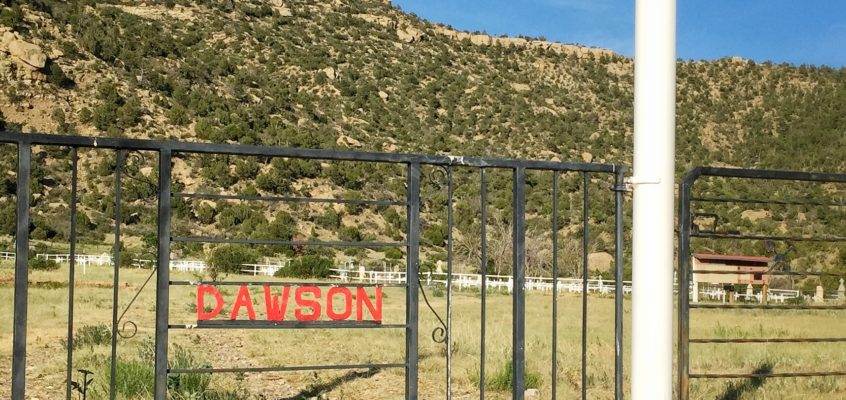 Dawson, New Mexico – Grandpa and the ghost town