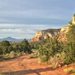 Campsite view from Echo Amphitheater campground