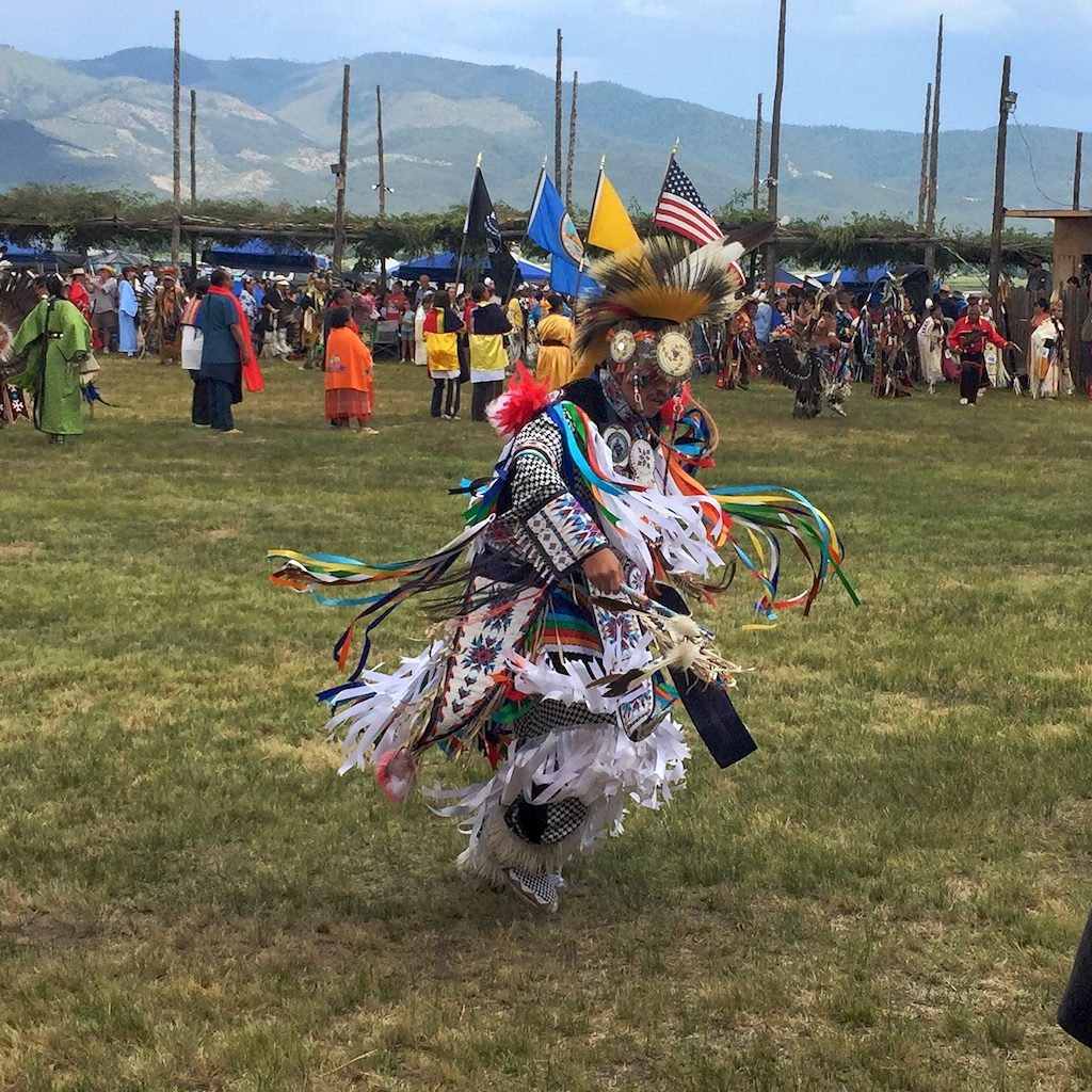 Dancer at Taos Pueblo Powwow