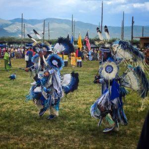 Costumes at the Taos Pueblo Powwow