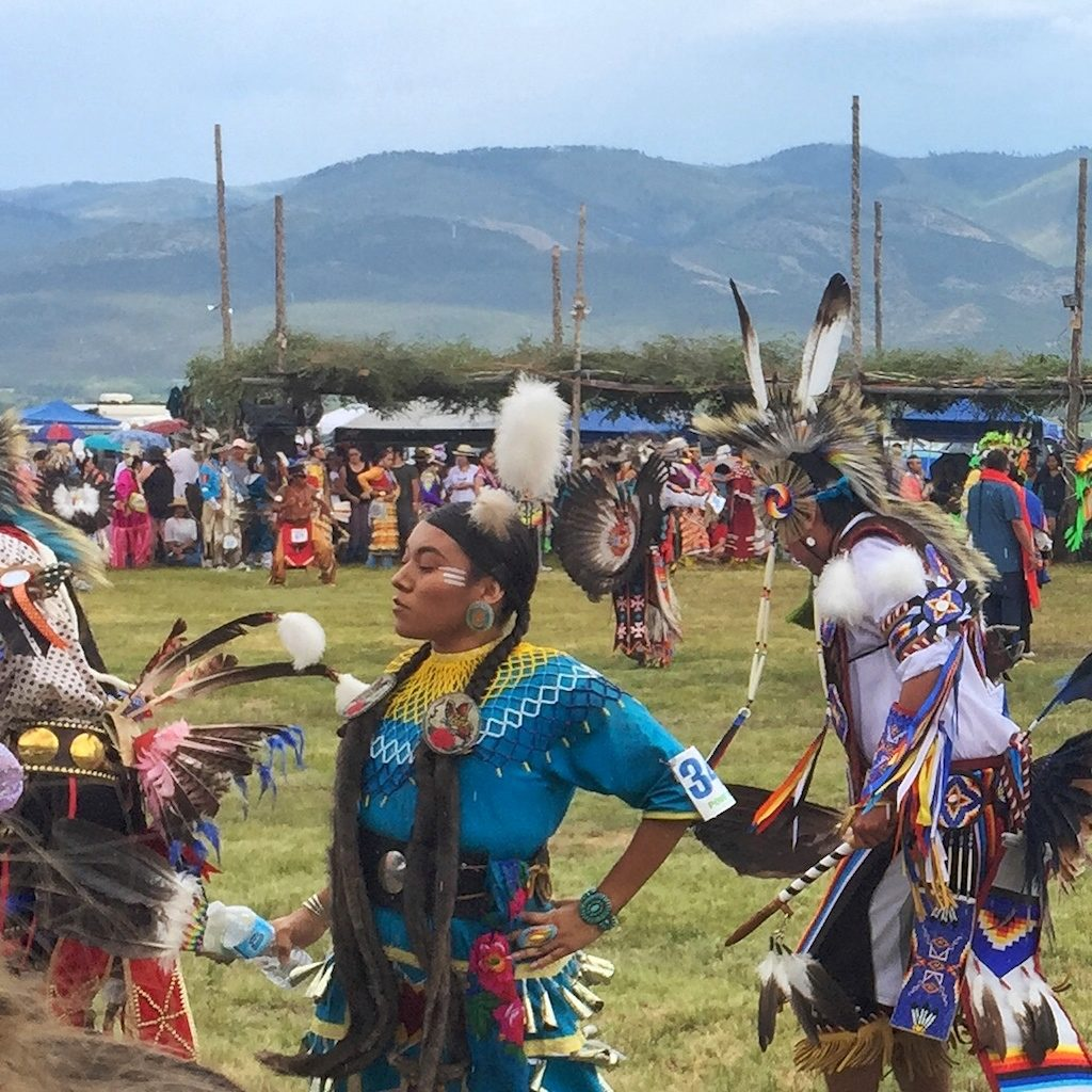 Jingle dress at the Taos Pueblo Powwow