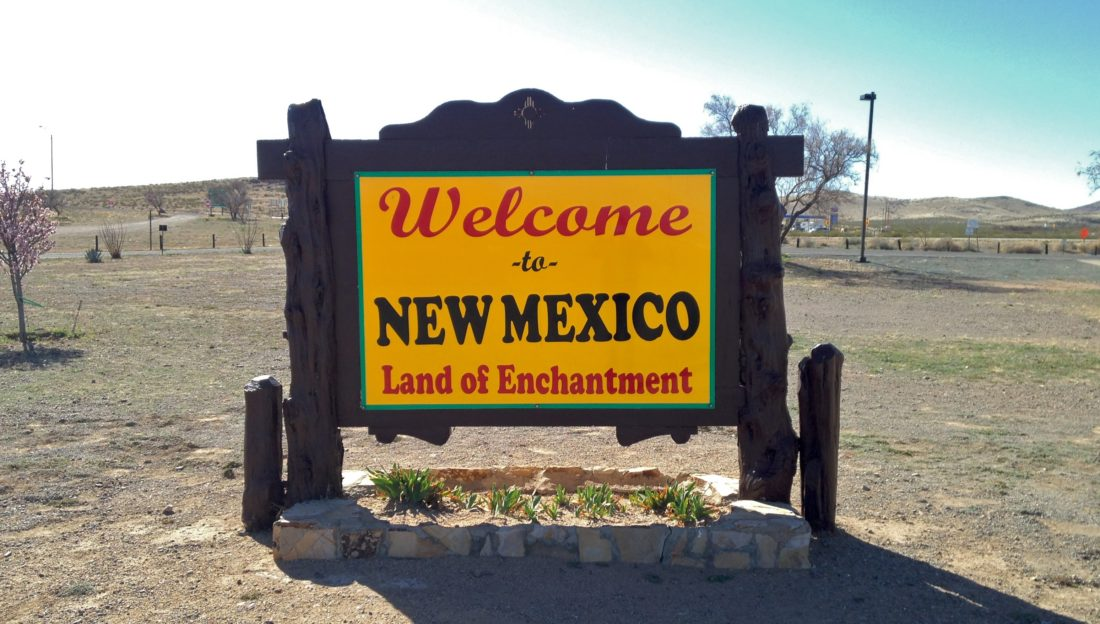 Welcome Center in Lordsburg, New Mexico