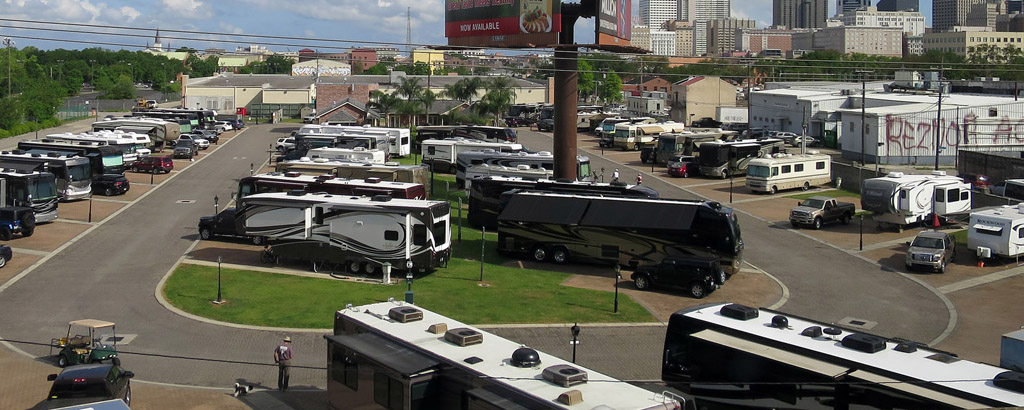 Big RV parks mean a higher full time RV budget