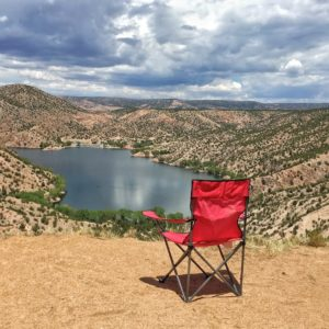 Santa Cruz Lake Overlook campground