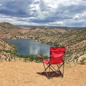 Santa Cruz Lake Overlook campground