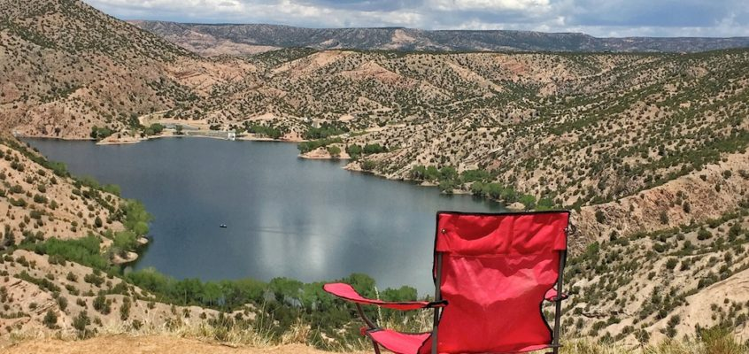 Visiting Chimayo? Santa Cruz Lake Overlook campground