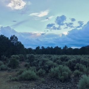 View from Taos Junction boondocking campsite