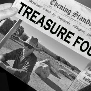 Treasure found! Newspaper headline