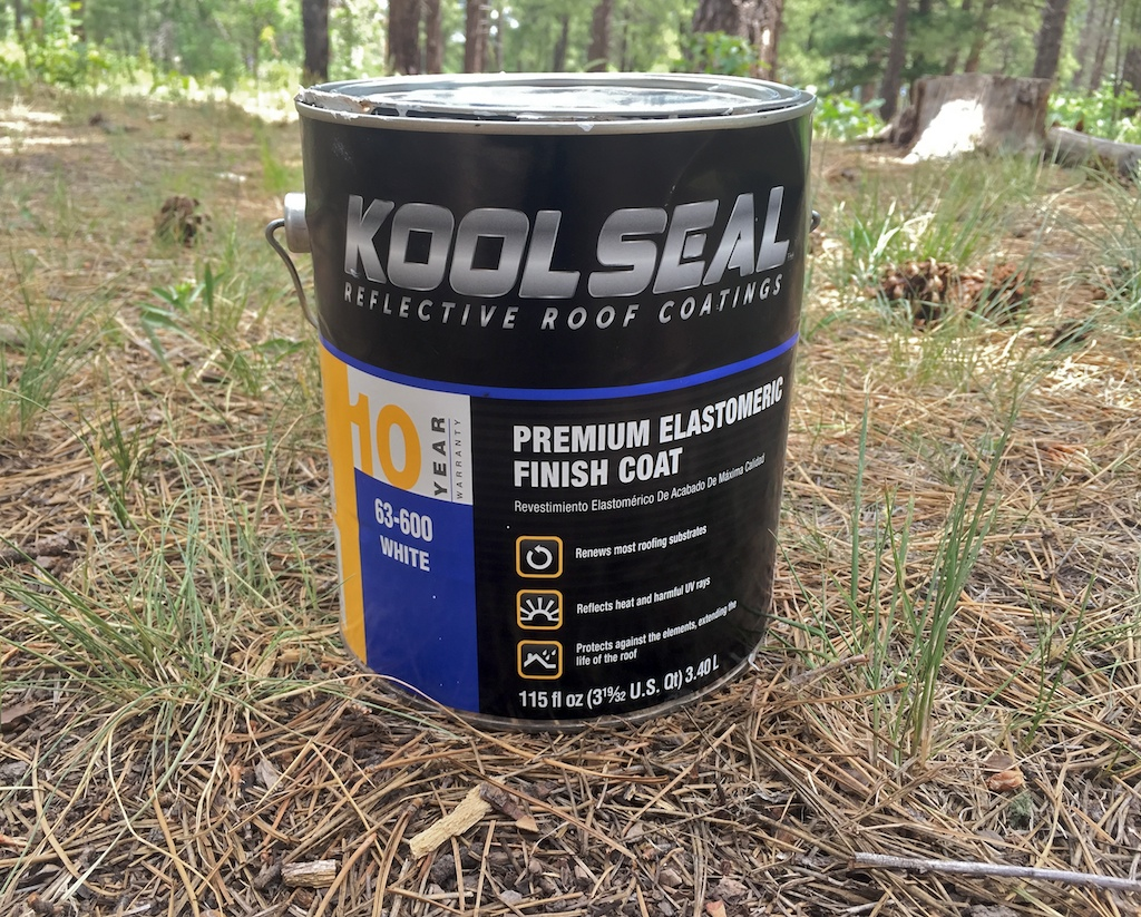 Painting your RV roof with this elastomeric roof paint