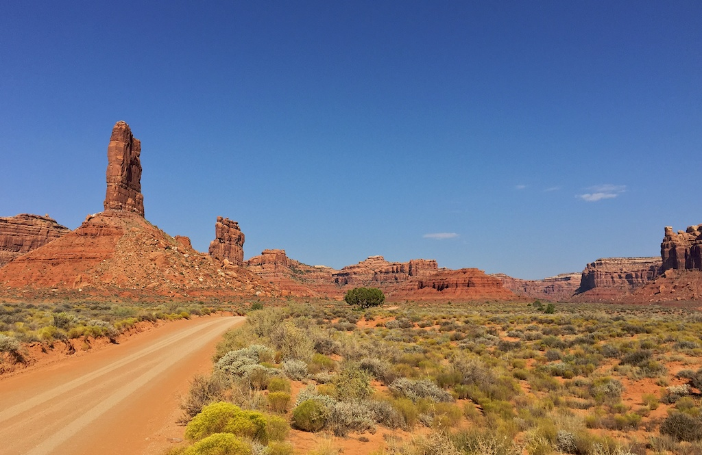 Valley of the Gods, in Bears Ears National Monument