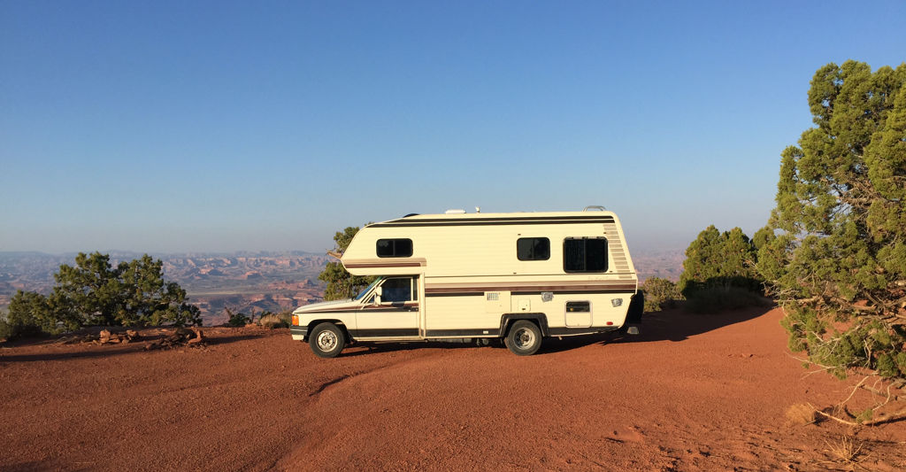 A perfect beginner's RV boondocking spot
