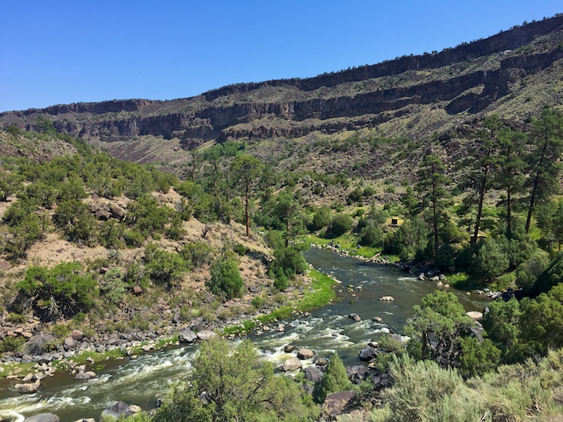 Hiking in the Rio Grande Gorge