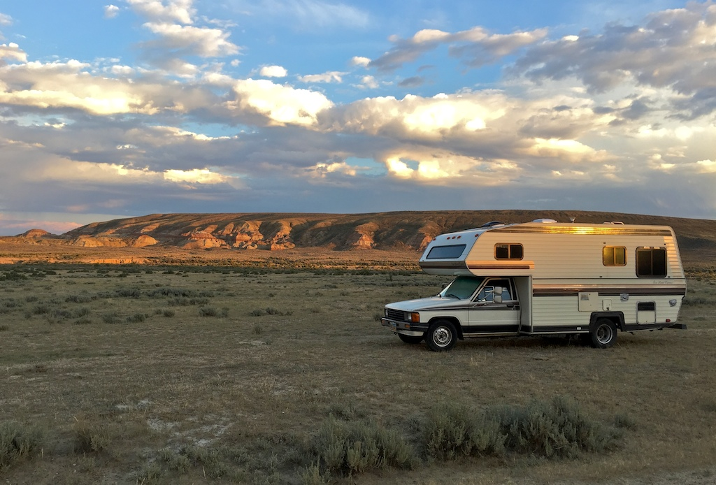 BLM land has many RV boondocking options for beginners