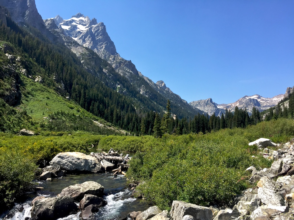 Hiking in Grand Teton National Park