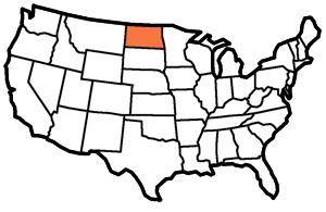 North Dakota - The Peace Garden State